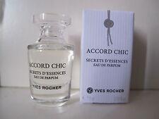 "MINIATURE YVES ROCHER Secrets d'essences """" ACCORD CHIC """""
