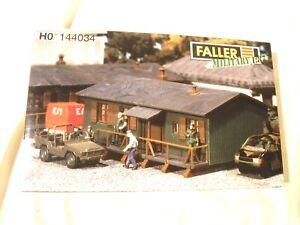 OO / HO Gauge 1/87 Scale Faller Military Barracks # 144034 Missing Parts