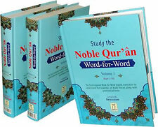 SPECIAL OFFER: The Noble Qur'an - Word-for-Word - Coloured (3 Vol. - HB)