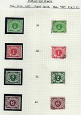 Ireland 1925 KGV Postage Dues set`s complete MM & very fine used. SG D1-D4.