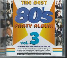 THE BEST 80'S PARTY ALBUM vol. 3 (CD 1999)