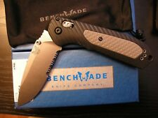 BENCHMADE FREEK 560S PART SERRATED BLADE AXIS LOCK BELT CLIP