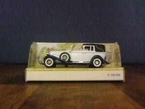 Matchbox Models of Yesteryear Y-34B 1933 Cadillac 452 V16