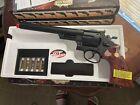RARE UHC UG133 Hop Up Air Revolver P.357 8inch Barrel black/wood Airsoft BB Toy