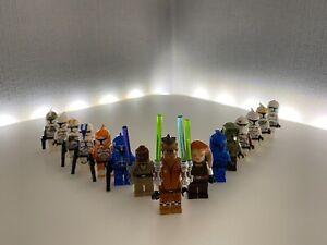 LEGO Star Wars Figuren Sammlung, Clone Trooper - Sith - Jedi - Auswahl -