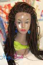 "Braided whole Lace Wig Small Box Senegalese Twists 1/30 bk auburn 18-20"" CIARRA"