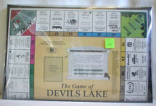 Game Devils Lake North Dakota ND ( Monopoly) Local Merchants  Businesses Vintage