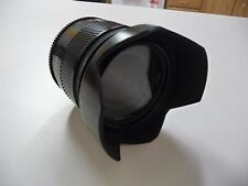 Minolta Maxxum 24mm f2.8 AF24 with hood for Minolta and Sony A mount SLR camera