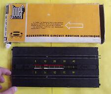 Ancien Accessoire Circuit Routier Électrique JOUEF TOURS A REBOURS 40 à 0