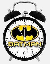 "Batman Alarm Desk Clock 3.75"" Room Decor E66 Nice for Gifts wake up"