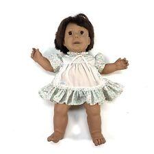 Rare 1985 Vintage Hasbro Wide Eyes Real Baby African American Doll Judith Turner