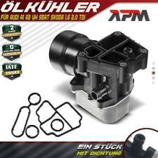Ölfiltergehäuse Ölfilter + Ölkühler für Audi A3 VW Caddy Seat Skoda 1.6 2.0 TDI