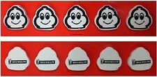 Michelin Man Tire Logo School Erasers Five Pack  New