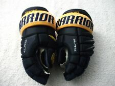 GAME USED NHL BUFFALO SABRES KYLE OKPOSO WARRIOR ALPHA HOCKEY GLOVES 14 INCH