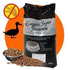 GRAIN FREE Super Premium Hypoallergenic Complete Adult Dog Food DUCK & POTATO