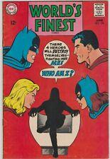 WORLD'S FINEST # 176  FN/VF  BATMAN/SUPERMAN, MARTIAN MANHUNTER NEAL ADAMS 1968