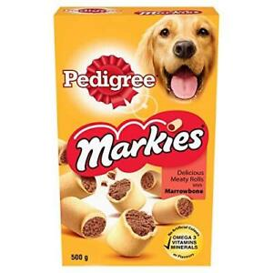 Pedigree Markies Dog Treats with Marrowbone, 500 g (Pack of 12)