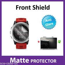 Garmin Fenix 3 Reloj Mate, Anti-Brillo DELANTERO Protector Pantalla