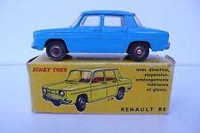 DINKY TOYS FRANCE  RENAULT R 8   REF 517   62/70  BON ÉTAT  BOITE D'ORIGINE
