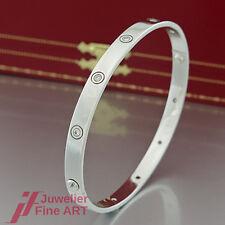 CARTIER Armreif - LOVE - X2072 -10 Brillanten(Diamant)-18K/750 Weißgold-Größe 22