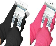 Capacitive Touch Screen Knit Gloves Outdoor Tablet Travel Gift Keep Clean Hands