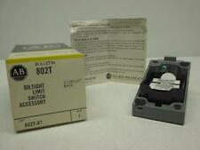 Allen Bradley 802T-X7 Oil Light LImit Switch Ser. F