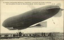 Dirigible Blimp PATRIE M. Jliot c1915 French Postcard