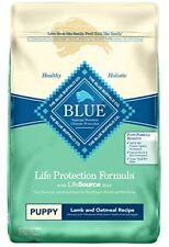 Blue Buffalo Dry Food for Puppies Lamb & Oatmeal Recipe 30-Pound Bag