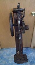 Antique Champion Blower & Forge Post Drill Press Primitive Shop Barn Garage Tool