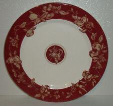 """Waverly Dinner Plate FRUIT TOILE Retired Red Fruits 11"""" Garden Room"""