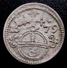 SILESIA - OPPELN = 1679 = 3 GROSCHEN - EMPEROR LEOPOLD II - SILVER