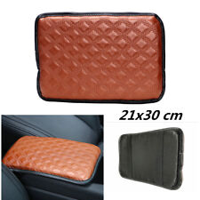Leather Brown Auto Car Armrest Pad Covers Console Universal Center Storage Mat (Fits: Chrysler Concorde)