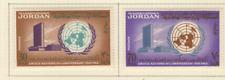Jordanie 2 timbres non oblitérés 1965 19e anniversaire des Nations-Unies / T2836