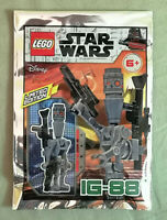 LEGO Star Wars IG-88 Assassin Droid Minifigure  Polybag  911947