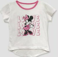 NWT TODDLER GIRL MINNIE MOUSE LOVE SHIRT SIZE 3T