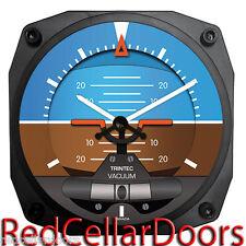 "TRINTEC New Design 2060 Series 6.5"" Wall Clock Artificial Horizon 12 Hr Display"
