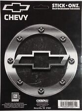 Decal: Chroma 9971 CHEVY Logo Machined Look Stick Onz