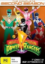 Mighty Morphin Power Rangers: Season 2 = NEW DVD R4