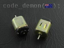 DC 3V 0.2A 12000 RPM Mini Electric Toy Motor 130 Model (x2) - (AVR / Arduino)