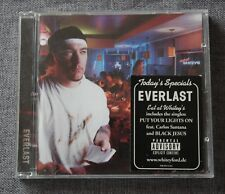 Everlast feat Calos Santana & Black Jesus, eat at whitey's, CD