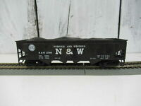 Bachmann Coal car HO-Scale 40' Quad Hopper Norfolk & Western-Black #12988