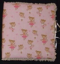 Baby Memory Book / Photo Album Fabric Covered - Various Patterns - You Choose