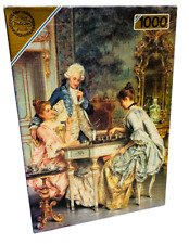 Falcon De Luxe Jigsaw Puzzle The Game Of Chess 1000 Piece 72 x 51cm Complete