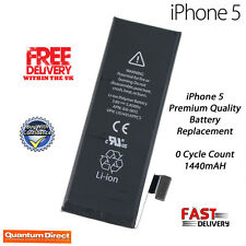 NEW Premium Quality Replacement Battery 1440mAh 0 Cycles For iPhone 5
