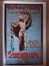 Olympia -- los angeles 1932 -- póster-cartel de 1972 -- texaco-werbemappe -