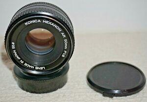 Konica Hexanon AR 50mm f/1.8 standard prime lens a7 m4/3 mirrorless adaptable