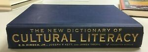 The New Dictionary of Cultural Literacy, 3rd Edition (2002, Hardcover)