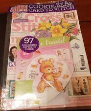 The World of Cross Stitching magazine #266 2018 Margaret Sherry, Unicorn Cards +