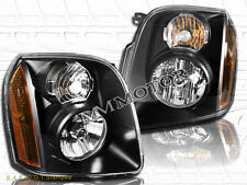 07-14 GMC Yukon/Yukon XL 1500 2500 Hybrid Replacement Black Housing Headlights