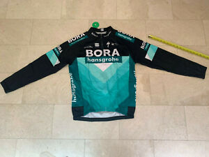 2019 Bora Hansgrohe Thermal Weight Long Sleeve Cycling Jersey size XL